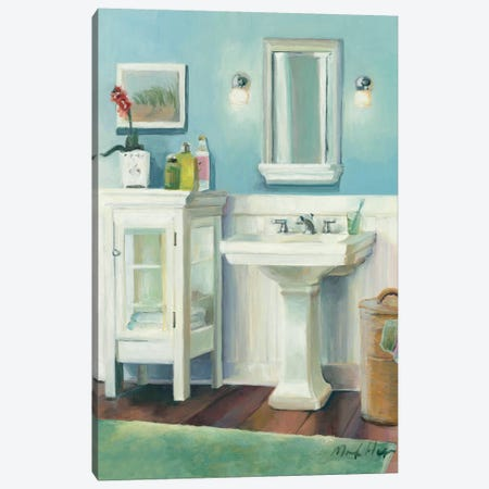 Cape Cod Cottage Sink Canvas Print #WAC2601} by Marilyn Hageman Art Print