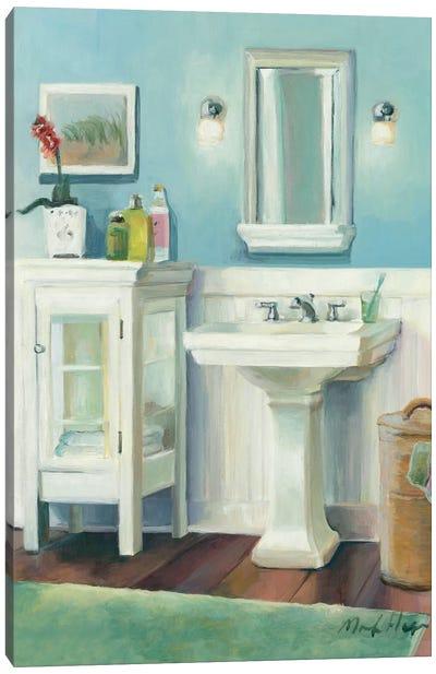 Cape Cod Cottage Sink Canvas Art Print