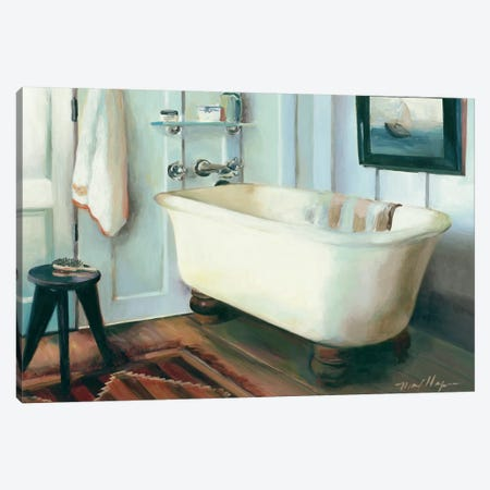 Cape Cod Cottage Tub Canvas Print #WAC2603} by Marilyn Hageman Canvas Art Print