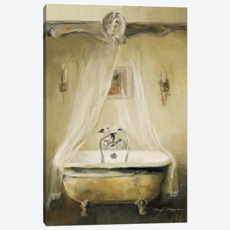 Provence Bath I Canvas Print #WAC2607} by Marilyn Hageman Canvas Wall Art
