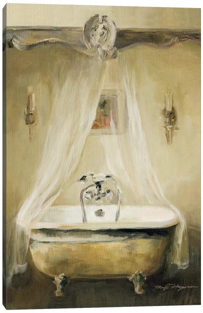Provence Bath I Canvas Print #WAC2607
