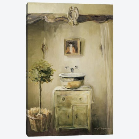 Provence Bath II Canvas Print #WAC2608} by Marilyn Hageman Canvas Art Print