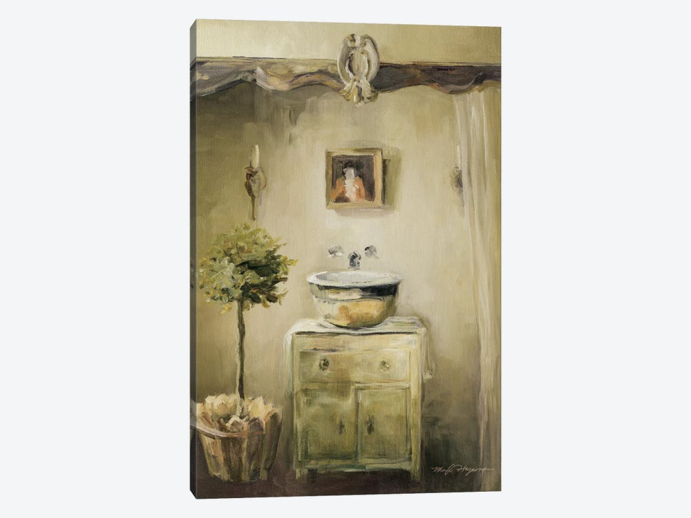 Provence Bath II by Marilyn Hageman 1-piece Canvas Wall Art