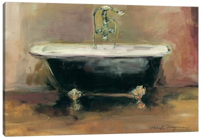 Vintage Tub I Canvas Print #WAC2609