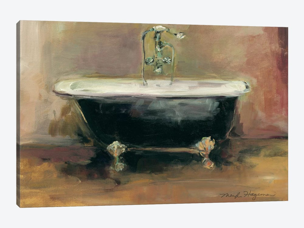 Vintage Tub I by Marilyn Hageman 1-piece Canvas Print