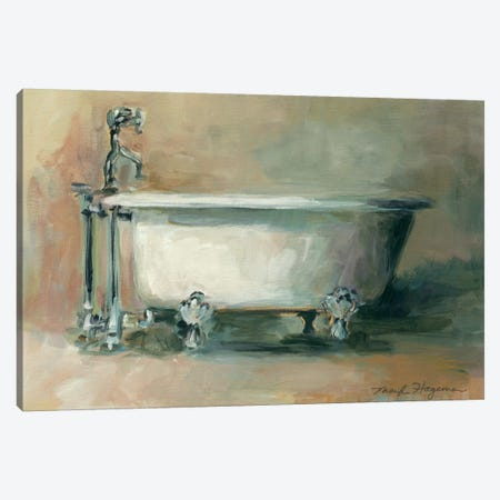 Vintage Tub II Canvas Print #WAC2610} by Marilyn Hageman Canvas Wall Art