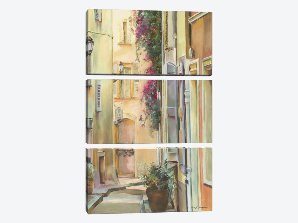 Montmartre I by Marilyn Hageman 3-piece Canvas Print