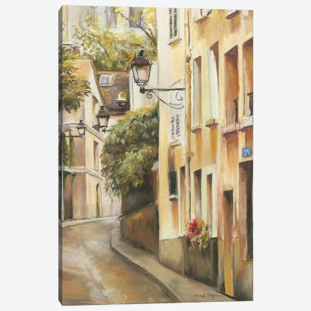 Montmartre II Canvas Print #WAC2615} by Marilyn Hageman Canvas Print
