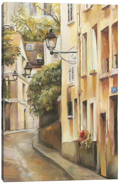 Montmartre II Canvas Print #WAC2615