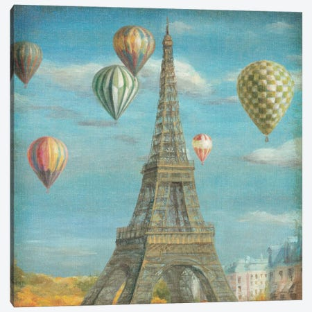 Balloon Festival Canvas Print #WAC261} by Danhui Nai Canvas Art