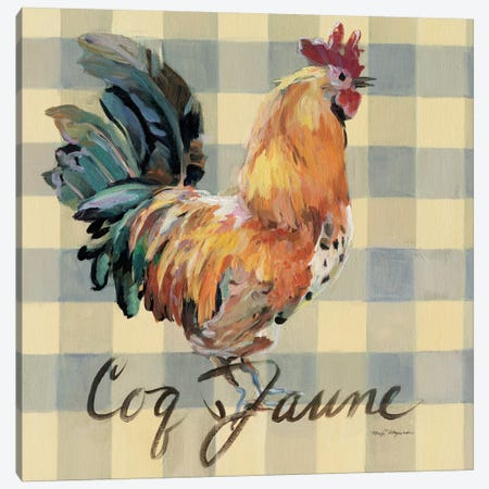 Coq Jaune Canvas Print #WAC2637} by Marilyn Hageman Art Print