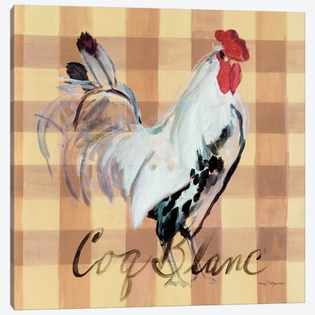 Coq Blanc Canvas Print #WAC2638} by Marilyn Hageman Canvas Wall Art