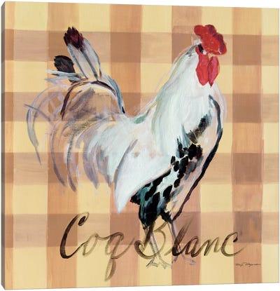 Coq Blanc Canvas Print #WAC2638