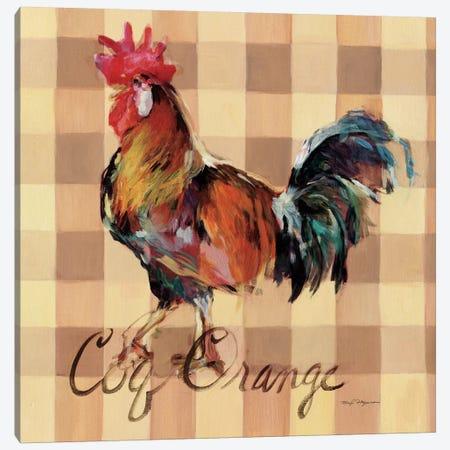 Coq Orange Canvas Print #WAC2639} by Marilyn Hageman Canvas Artwork