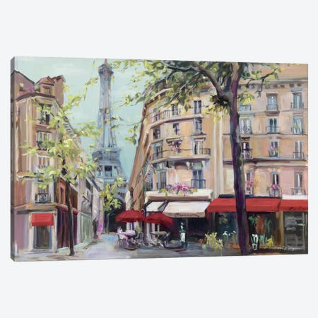 Springtime in Paris Canvas Print #WAC2642} by Marilyn Hageman Canvas Print