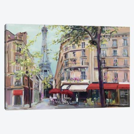 Springtime in Paris Canvas Print #WAC2642} by Marilyn Hageman Canvas Print