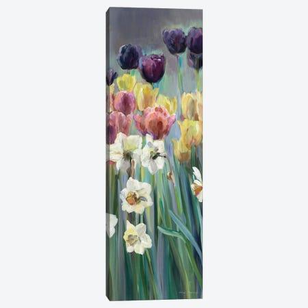 Grape Tulips Panel I 3-Piece Canvas #WAC2644} by Marilyn Hageman Canvas Art