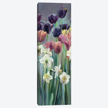 Grape Tulips Panel II Canvas Print #WAC2645} by Marilyn Hageman Canvas Wall Art