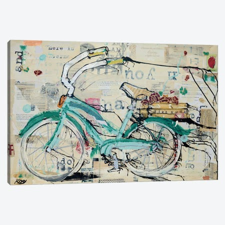Prune Puffs Canvas Print #WAC2709} by Kellie Day Canvas Wall Art