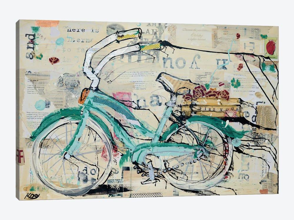 Prune Puffs by Kellie Day 1-piece Canvas Wall Art
