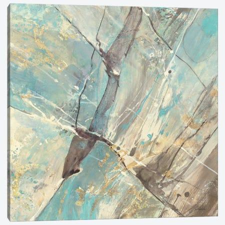 Blue Water II 3-Piece Canvas #WAC2713} by Albena Hristova Canvas Print