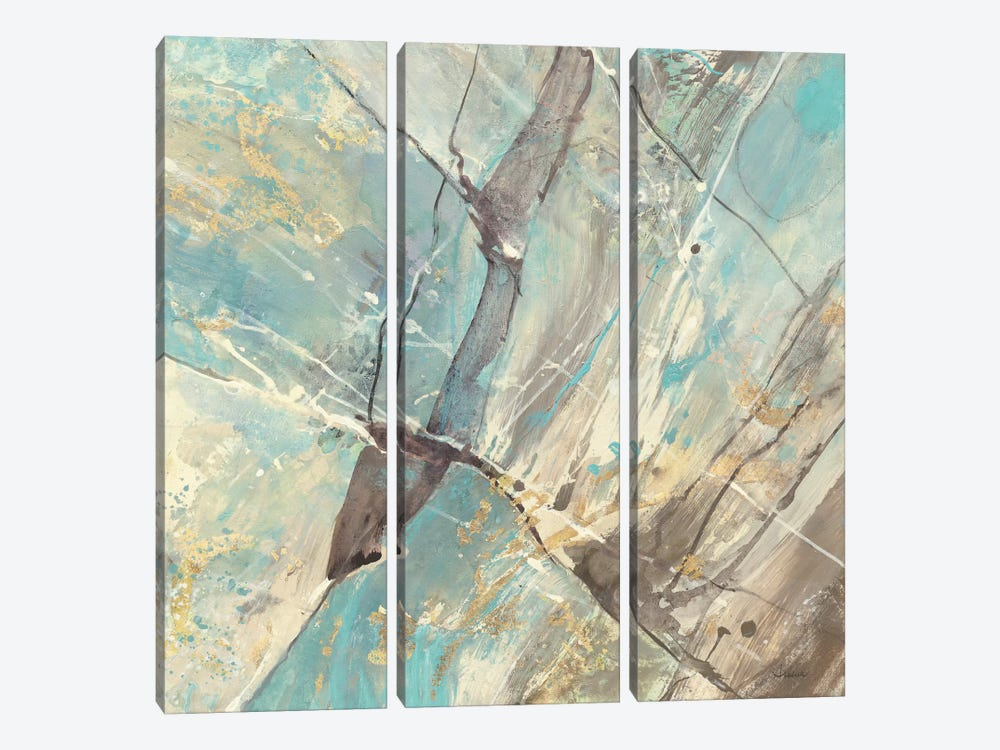 Blue Water II by Albena Hristova 3-piece Art Print