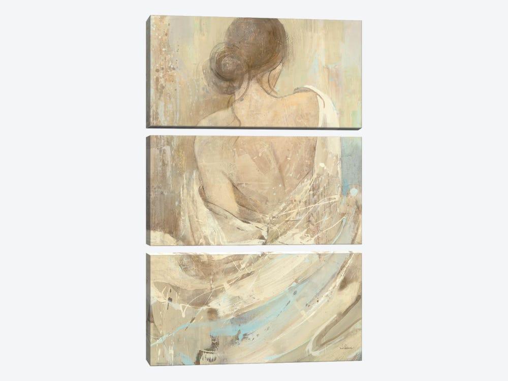 Abstract Figure Study I by Albena Hristova 3-piece Canvas Art Print