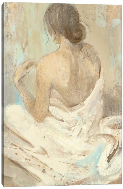 Abstract Figure Study II Canvas Art Print