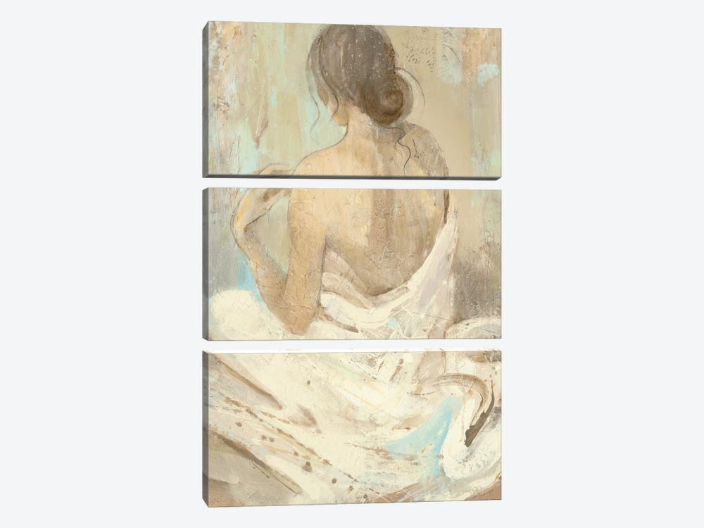 Abstract Figure Study II 3-piece Canvas Art