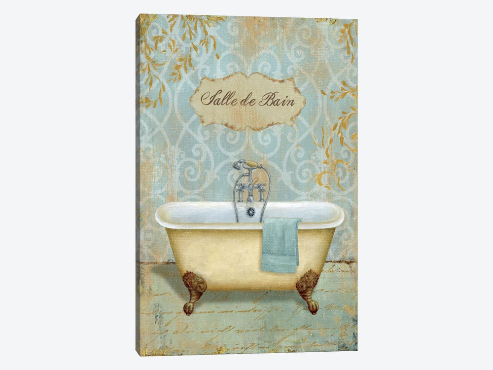 Salle de Bain I by Daphne Brissonnet 1-piece Canvas Print