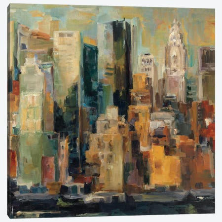 New York, New York Canvas Print #WAC2731} by Albena Hristova Canvas Print