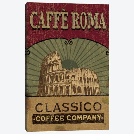 Coffee Blend Label I Canvas Print #WAC273} by Daphne Brissonnet Art Print