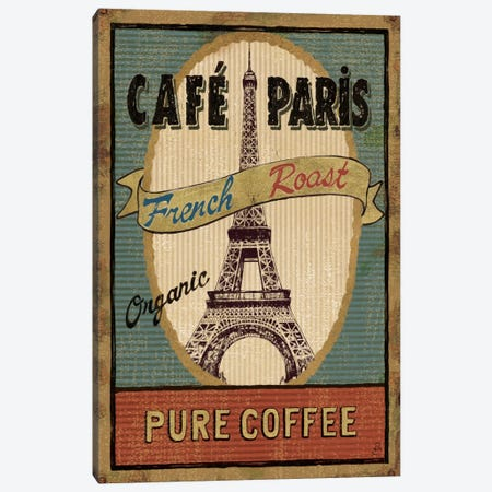 Coffee Blend Label II  Canvas Print #WAC274} by Daphne Brissonnet Canvas Wall Art