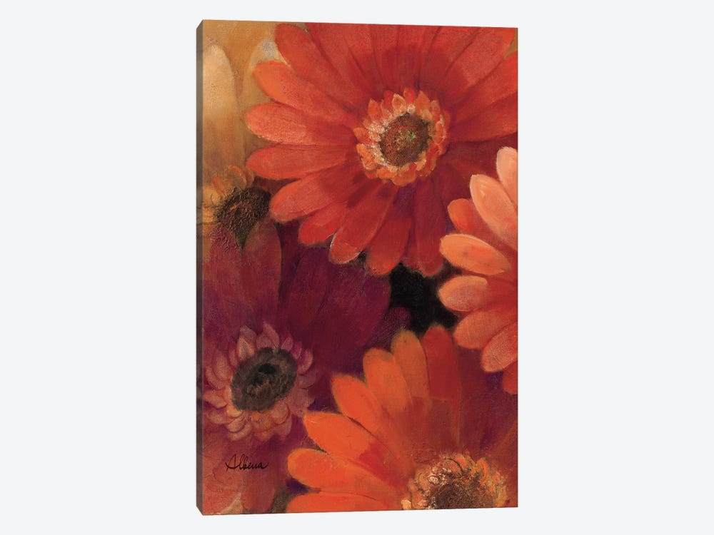 Garden of Gerberas II by Albena Hristova 1-piece Canvas Wall Art