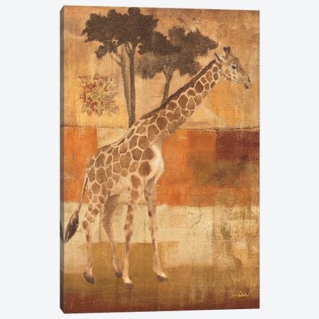 Animals on Safari I Canvas Print #WAC27} by Albena Hristova Canvas Art