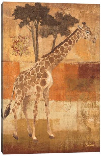 Animals on Safari I Canvas Print #WAC27