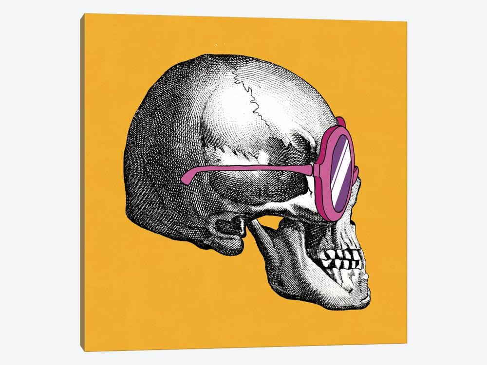Sunny Skull I by Elyse DeNeige 1-piece Canvas Art Print