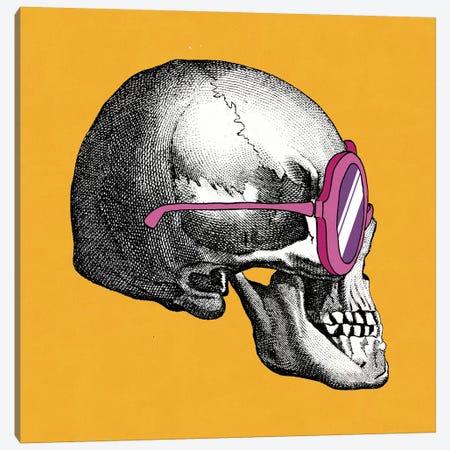 Sunny Skull I Canvas Print #WAC2800} by Elyse DeNeige Canvas Art Print