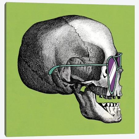 Sunny Skull III Canvas Print #WAC2802} by Elyse DeNeige Canvas Print