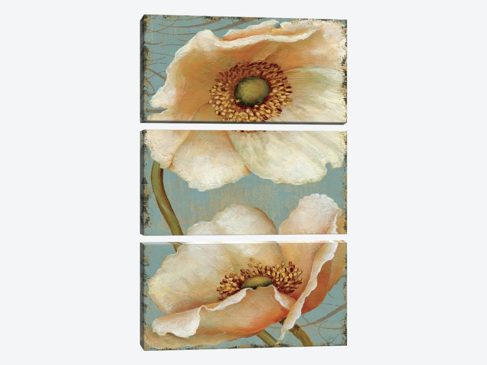 Windflower IV 3-piece Canvas Art Print