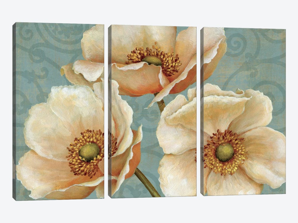 Windflower 3-piece Canvas Art