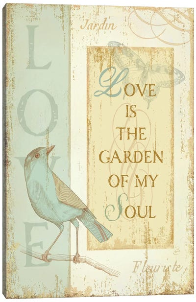 Secret Garden I Canvas Art Print