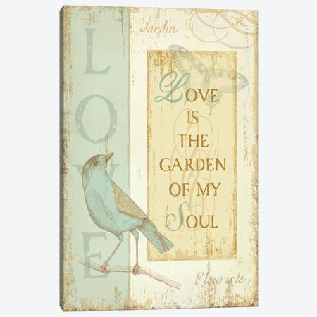 Secret Garden I  Canvas Print #WAC284} by Daphne Brissonnet Canvas Print