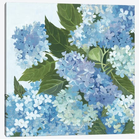Decorative Hydrangea I Canvas Print #WAC2866} by Kathrine Lovell Canvas Art