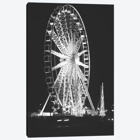 Roue de Paris Canvas Print #WAC2888} by Laura Marshall Canvas Art Print