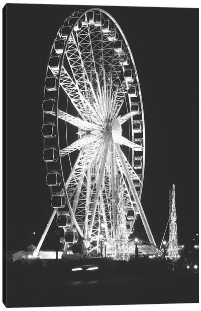 Roue de Paris Canvas Art Print