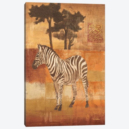 Animals on Safari II Canvas Print #WAC28} by Albena Hristova Art Print