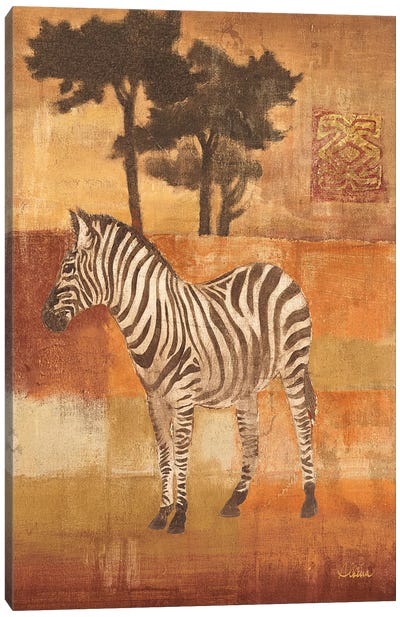 Animals on Safari II Canvas Art Print