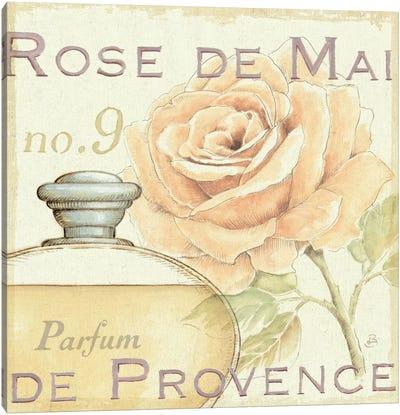 Fleurs and Parfum I Canvas Print #WAC290