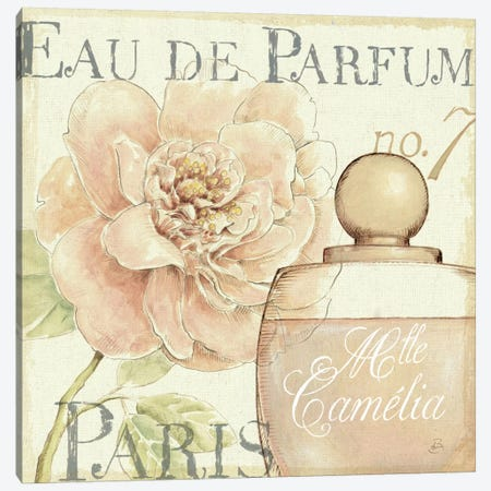Fleurs and Parfum II Canvas Print #WAC291} by Daphne Brissonnet Canvas Art Print